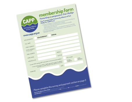 Download the CAPP membership form!